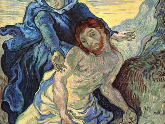 Vincent Willem van Gogh Pieta