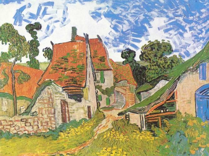 Vincent Willem van Gogh Auvers'de Sokak