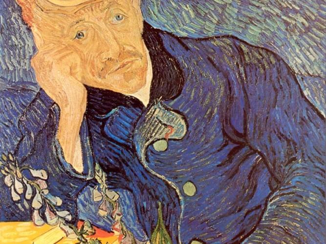 Vincent Willem van Gogh Dr Gachet'in Portresi
