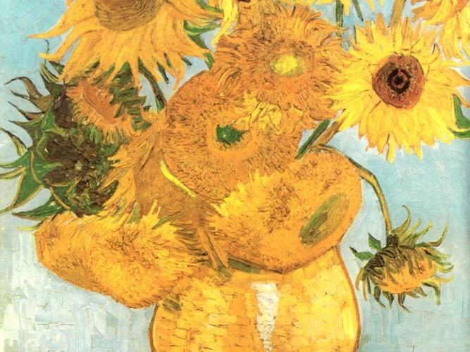 Vincent Willem van Gogh Ayçiçekleri Demeti