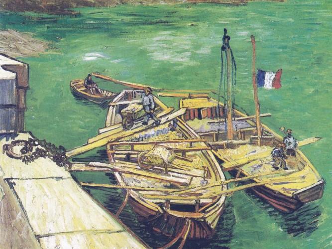 Vincent Willem van Gogh Kayıklar