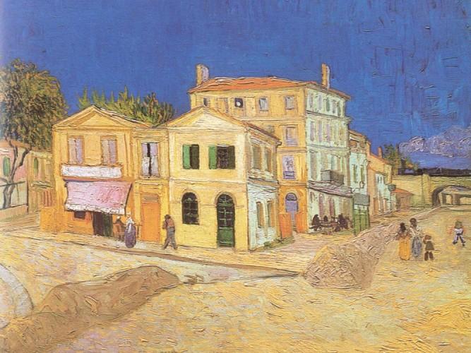 Vincent Willem van Gogh Sarı Ev