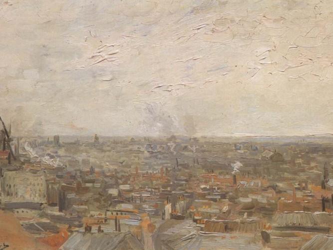 Vincent Willem van Gogh Montmartre'dan Bakış