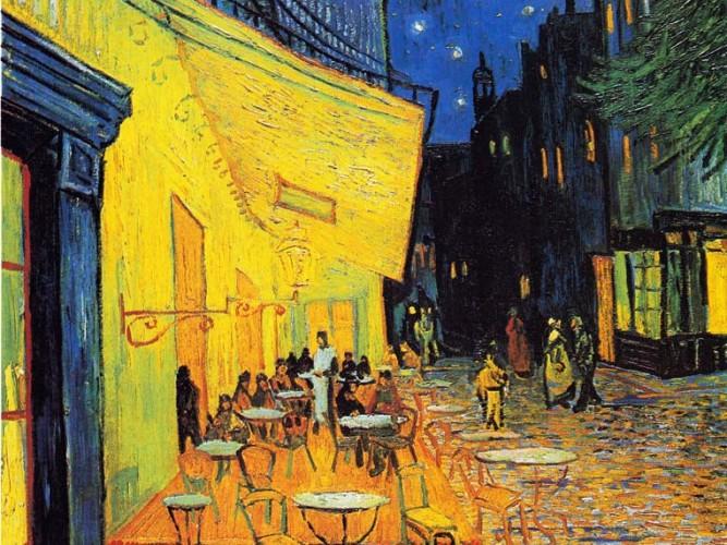 Vincent Willem van Gogh Cafede Gece