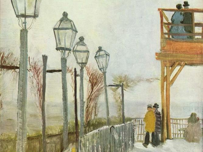 Vincent Willem van Gogh Montmartre