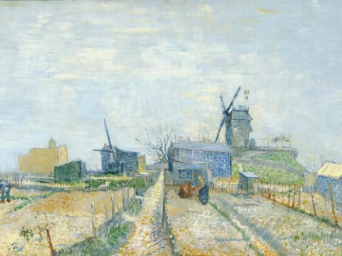Vincent Willem van Gogh Montmartre Değirmeni