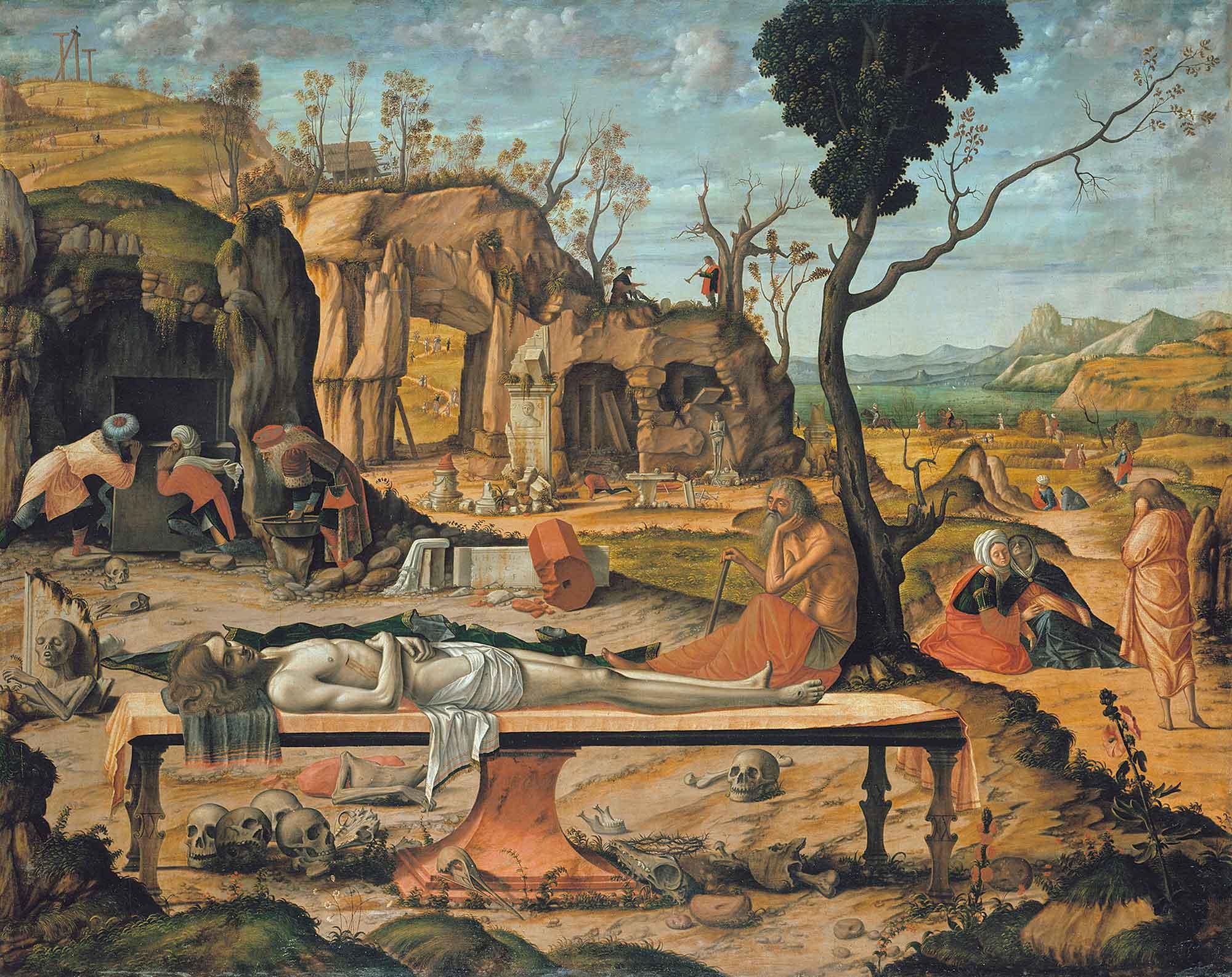 Vittore Carpaccio Hz Isa'nın Gömülmesi