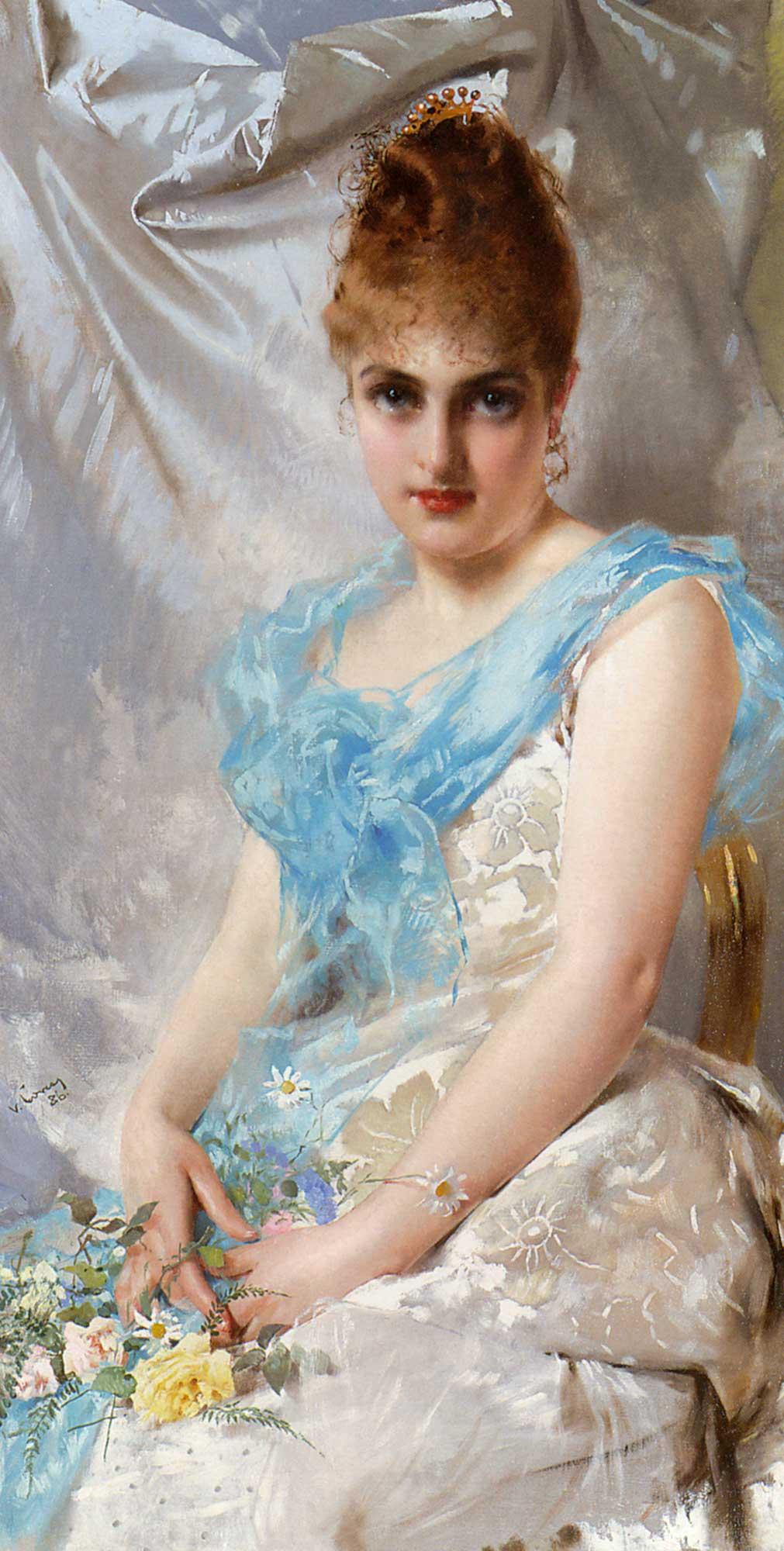 Vittorio Matteo Corcos Genç Kadın