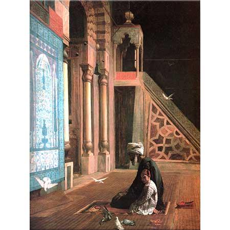 Walter Charles Horsley İbadet Mavi Cami Kahire