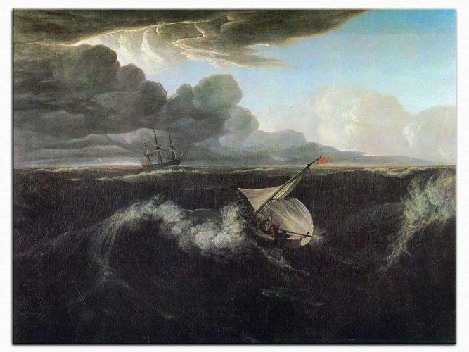 Washington Allston Fırtınalı Deniz