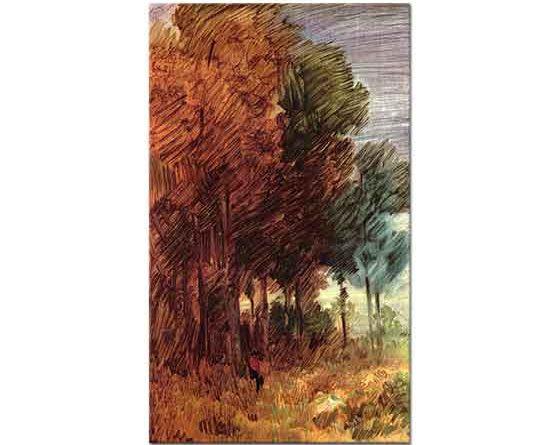 Wilhelm Busch Güz Ormanı