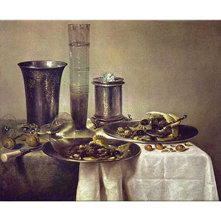 Willem Claesz Heda Gece Masası