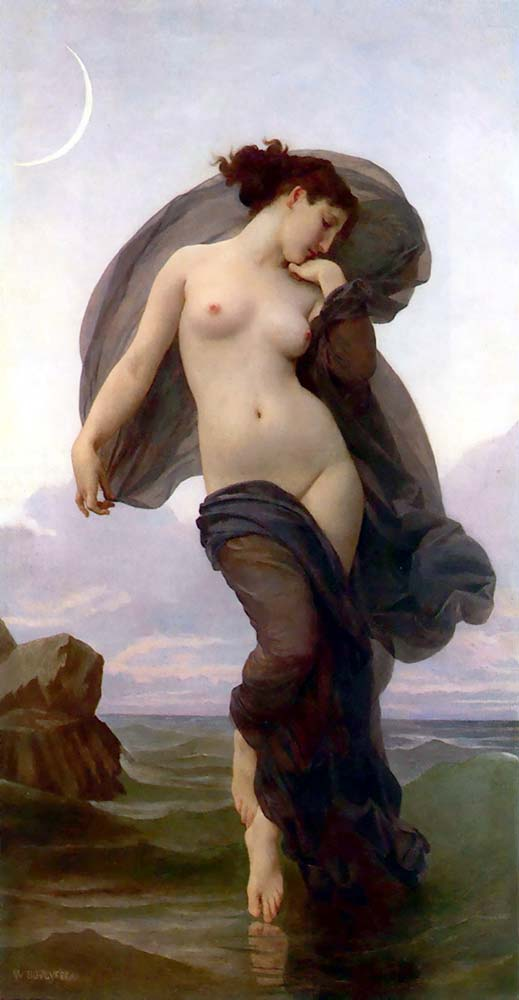 William Adolphe Bouguereau Akşam Hali