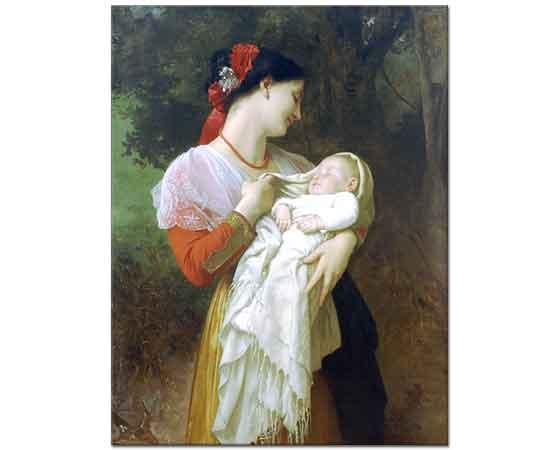 William Adolphe Bouguereau Annenin Hayranlığı