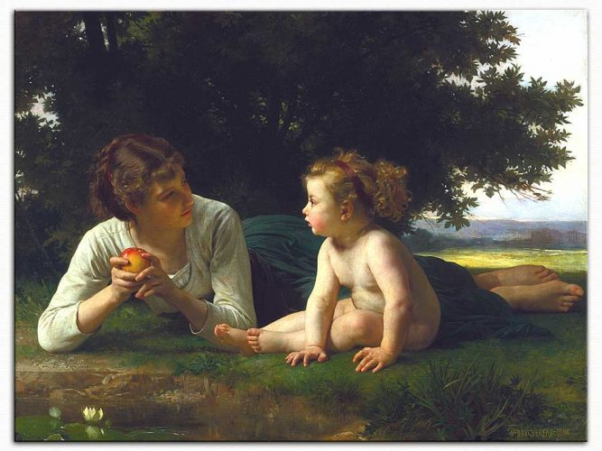 William Adolphe Bouguereau Ayartma