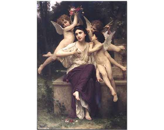 William Adolphe Bouguereau Bahar Hayali