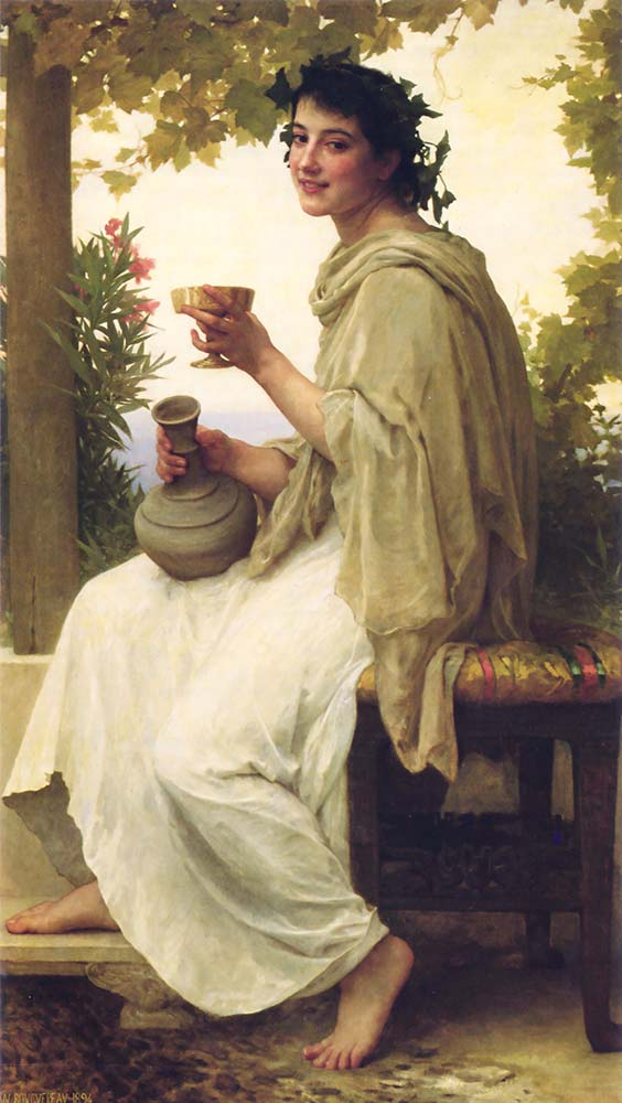 William Adolphe Bouguereau Baküs Rahibesi
