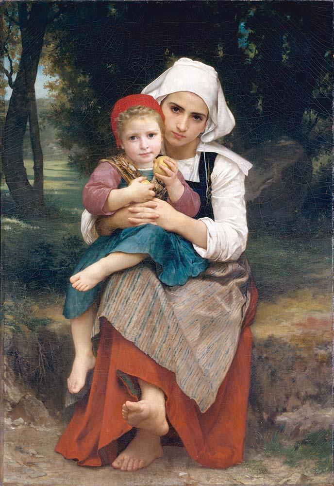 William Adolphe Bouguereau Breton Kardeşler