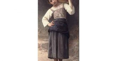 William Adolphe Bouguereau Çeşmeye Giden Genç Kız