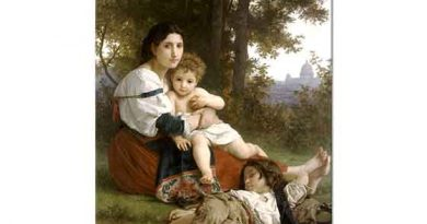 William Adolphe Bouguereau Dinlenme
