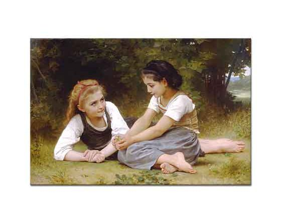 William Adolphe Bouguereau Fındıklar