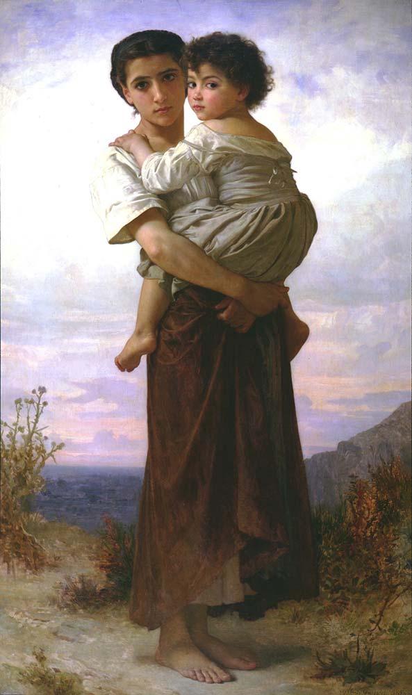 William Adolphe Bouguereau Genç Çingeneler