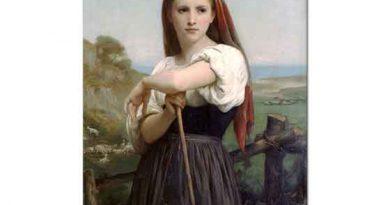 William Adolphe Bouguereau Genç Çoban