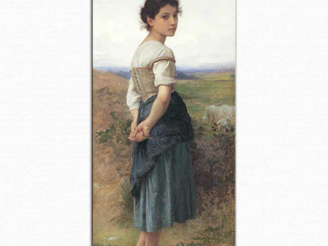 William Adolphe Bouguereau Genç Çoban Kız