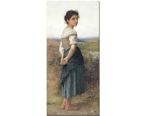 William Adolphe Bouguereau Genç Çoban Kız