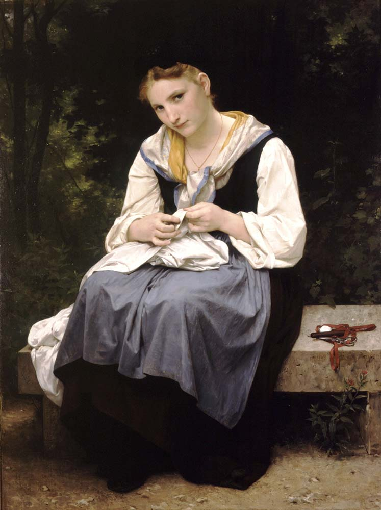 William Adolphe Bouguereau Genç işçi