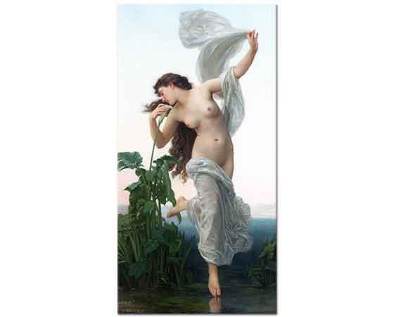 William Adolphe Bouguereau Gündoğumu ışığında