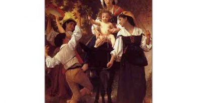 William Adolphe Bouguereau Hasat Dönüşü