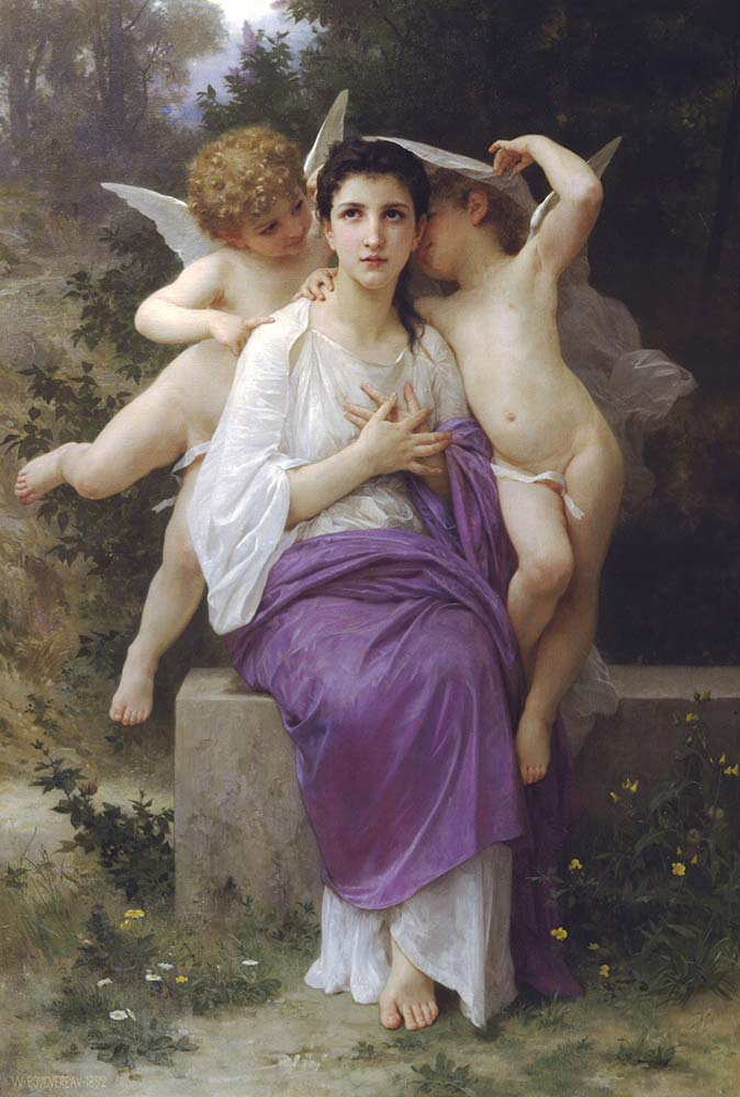William Adolphe Bouguereau Kalbin Uyanışı