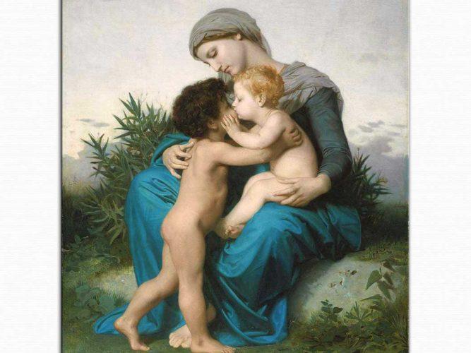 William Adolphe Bouguereau Kardeşçe Sevgi