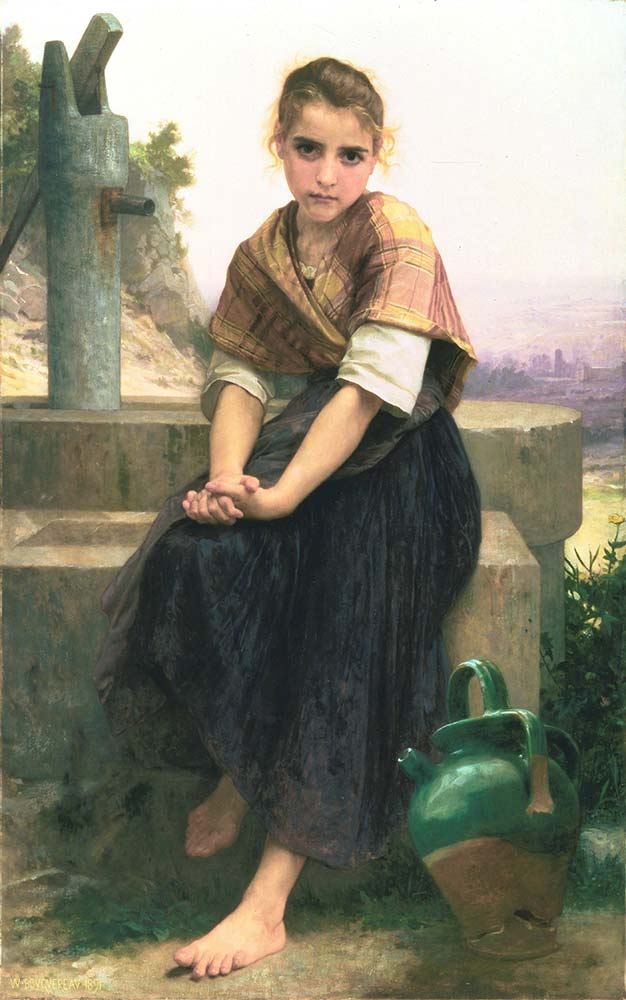 William Adolphe Bouguereau Kırık Testi