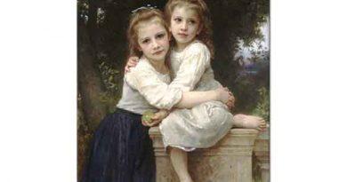 William Adolphe Bouguereau Kız Kardeşler