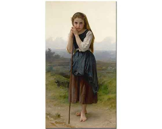 William Adolphe Bouguereau Küçük Çoban