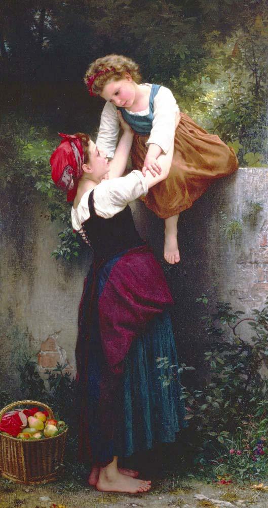 William Adolphe Bouguereau Küçük Hırsızlar