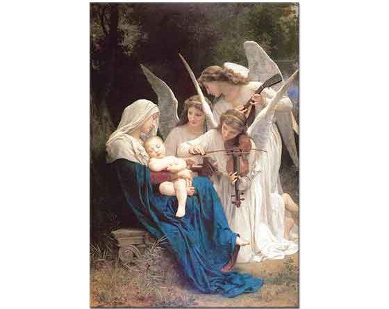 William Adolphe Bouguereau Meleklerin Şarkısı