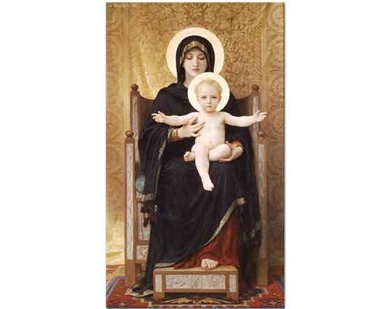 William Adolphe Bouguereau Meryem ve Çoçuk Isa