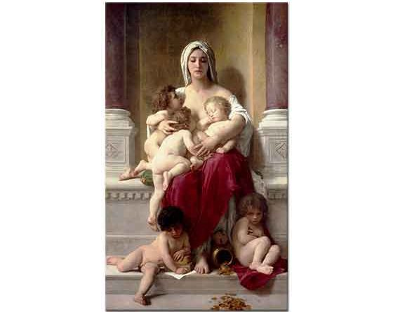 William Adolphe Bouguereau Şefkat