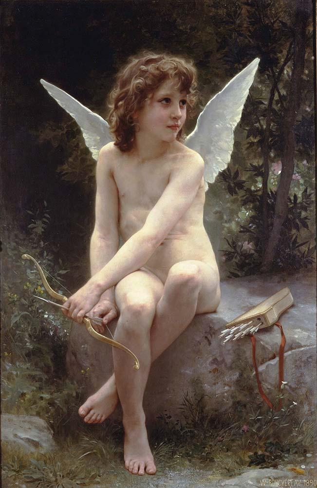 William Adolphe Bouguereau Sevgiye Bakış