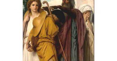 William Adolphe Bouguereau Tobias Babasına Elveda Derken
