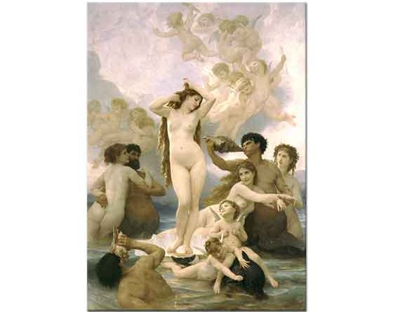 William Adolphe Bouguereau Venus'ün Doğuşu