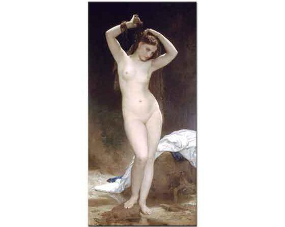 William Adolphe Bouguereau Yıkanan Kadın