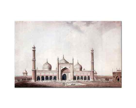 William Daniell Cuma Camisi Delhi
