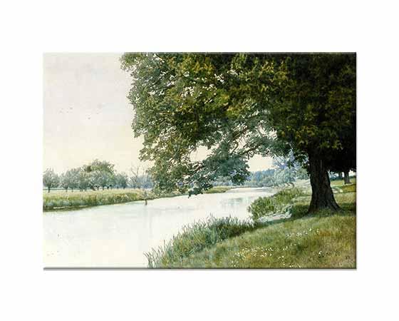 William Fraser Garden Ouse Nehri Bedfordshire