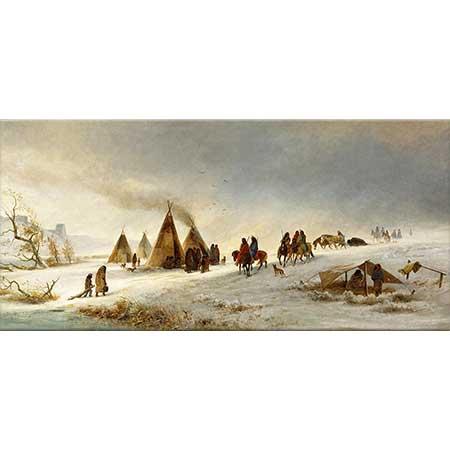 William Hahn Karda Kızılderililer
