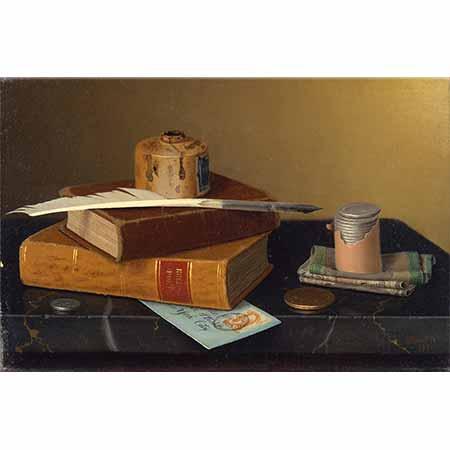 William Michael Harnett Bankacı Masası