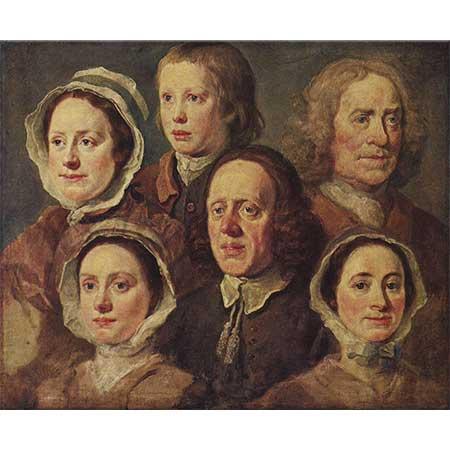 William Hogarth Hogarth'ın Hizmetçileri